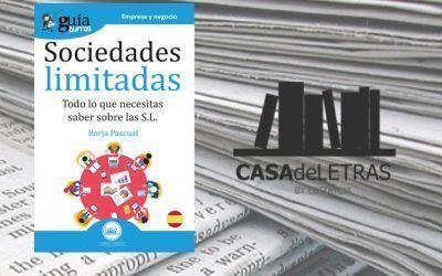 El 'GuíaBurros: Sociedades limitadas' en el medio Casa de Letras