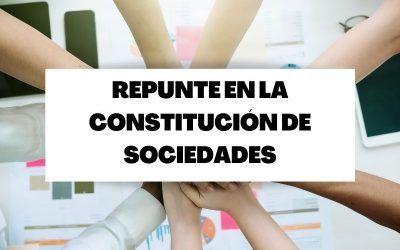 Repunte del 7,8% en la constitución de sociedades en febrero